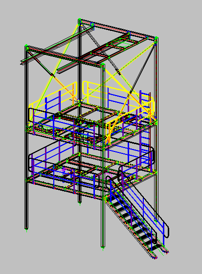 tower |steel structural software -3dS